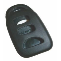 Vehicle Remote Key Fob Cover, Remote Keyless Entry, 3-Button, Black, For Hyundai/Kia