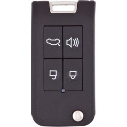 "Vehicle Programmable Flip Key Housing, Smart4car, 5.7"" Width x 3.3"" Depth x 1.2"" Height, Without Transponder"