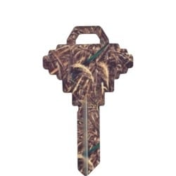 Decorative Key Blank, Realtree, Schlage/Baldwin, Camouflage Design, SC1 Keyway