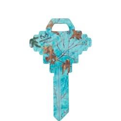 Decorative Key Blank, Realtree, Schlage/Baldwin, Sea Glass Design, SC1 Keyway