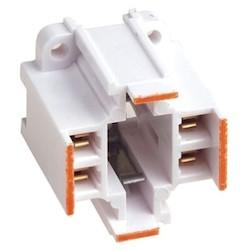 WHITE FLUORESCENT VERTICAL    SCREW MOUNT 26/32W G24Q 3     75W600V
