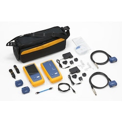 500 MHz Cable Analyzer Cat6A/Class EA, Stand-Alone Unit For Copper Only With Channel Adapter, Soft carrying case