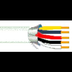22-5C SOL BC PVC FOIL SHD     PVC JKT WHT                   CL3 60C 300V