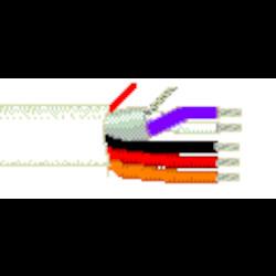 12-2C STR BC + 18-1C STR BC +, 22-1P STR BC FOIL SHD LSPVC JK, WHT 75C 300V CMP