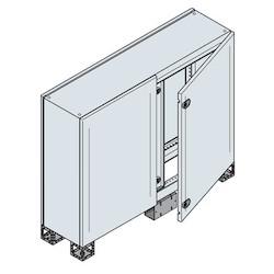 DOUBLE BL. DOOR ENC. 1000 x 800 x 300MM 7035
