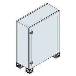 BLIND DOOR ENCL. 1200 x 800 x 400MM 7035
