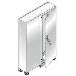 CABINET 2BL. DOOR ST. STEEL 1800 x 1200 x 500