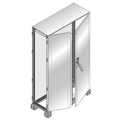 CABINET 2BL. DOOR ST. STEEL 1800 x 1200 x 600