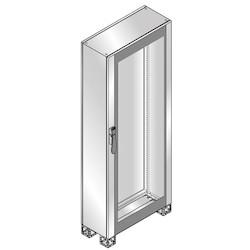 CABINET GLASS DOOR ST. STEEL 1800 x 600 x 400