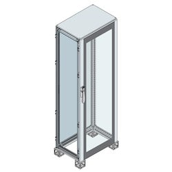 GLASS DOOR ENCLOSURE 2200 x 600 x 500 7035