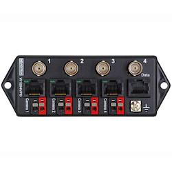 4-channel Video-data-power Combiner-passive Transceiver Hub