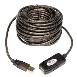 USB 2.0 Hi-Speed Active Extension Repeater Cable (A M/F), 10M (33-ft.)