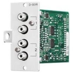 Input Module For 9000/9000M2, Two Mic/Line Inputs With DSP, Stereo Summing Dual RCA Jacks On Each Input