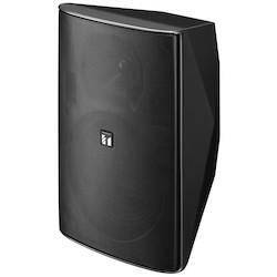 Speaker, 2-Way, Splashproof, Surface Mount, 70/100 Volt, 60 Watt, 65 to 20000 Hertz, 8 Ohm, 92 dB, 244 MM Width x 235 MM Depth x 373 MM Height, HIPS Black Enclosure