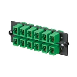 FAP avec 12 SC APatch cordon Simplex adaptateurs AG Zirconia