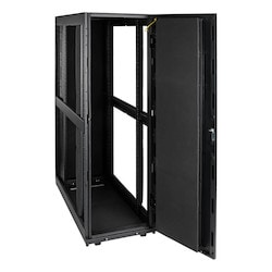 SMARTRACK 42U STANDARD-DEPTH, QUIET SERVER RACK ENCLOSURE, CABINET WITH SOUND