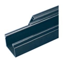 """Solide charnière conduit, PVC, 4 """"X 4"""" X 6 pi, noir"""