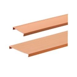 "Channel Cover, 4"" x 4"" (100mm x 100mm), 6 FT., Fiber-Duct, Orange"