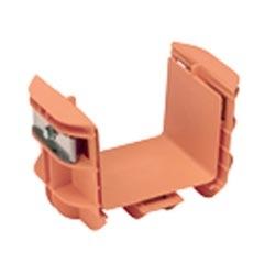 "Coupleur, 4 ""x 4"" (100 x 100 mm), FiberRunner, Orange"