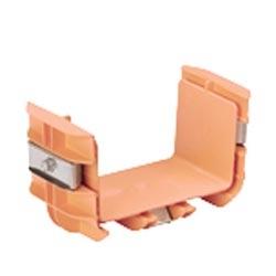 """Coupler, 6"""" x 4"""" (150mm x 100mm), FiberRunner, Orange"""