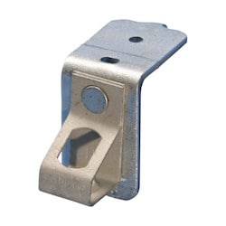 """Thread Install Rod Hanger with Pin Driven Angle Bracket, 1/4"""" Hole, Threaded"""