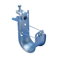 """nVent CADDY Cat HP J-Hook with BC200 Beam Clamp, 1 5/16"""" dia, 1/2"""" Max Flange"""