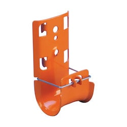 "nVent CADDY Cat HP J-Hook, PG, Painted, Orange, 3"" dia"