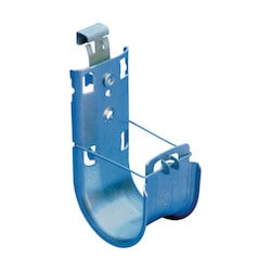 """nVent CADDY Cat HP J-Hook with Strut Attachment Clip, 2"""" dia"""