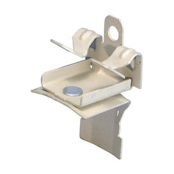 "nVent CADDY Cat HP J-Hook Clip to Hammer-On Flange Clip, Swivel, 1/2""-3/4"" Flange"