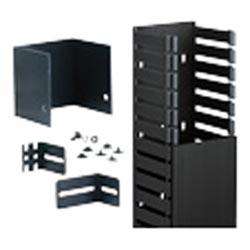 """Kit, 4 """"x 4"""" (100 x 100 mm), FiberRunner, noir"""
