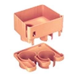 """Spillout raccord, 2-Port à 1,5""""(38mm) diamètre intérieur ondulé de tuyau, ou"""