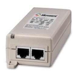 1-Port PoE Midspan, 10/100/1000BaseT, AC Input, US Cord