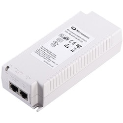 Single-port, 60W Gigabit Midspan, 4-Pairs, 802.3at Compliant with Surge Protection