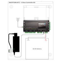 1 x INCP-996300EU - the Inception Controller and 1 x INTG-995201I - Enc-Medium Integriti Un-powered Enclosure
