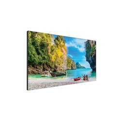 "LCD Video Wall, Full HD, 55"" Diagonal, 500 CD/Square Meter, 16:9 Aspect Ratio, 1920 x 1080 Resolution, 100 to 240 Volt AC 49/61 Hertz, 47.7"" x 4.2"" x 26.9"""