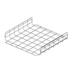 "Wire Basket, 21"" W x 4"" D x 24"" L (530mm x 100mm x 600mm ), Pre-Gal"