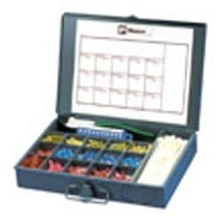 Industrial Maintenance Kit With Nylon Terminals in Steel Box