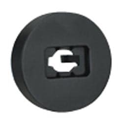 Audio Visual Punchdown Base, For Mini-Com S-Video And RCA Punchdown Modules Termination, Black