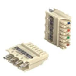 4-pair Category 6 punchdown connecting block. 10 PK