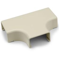 "Tee Cover, 1-3/4"", 1"" Bend Radius, PVC, Ivory, 1/bag"