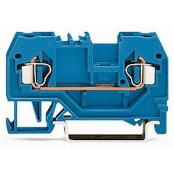 2-conductor Through Terminal Block; 2.5 mm2; Suitable For Ex I Applications; Center Marking; For Din-rail 35 X 15 And 35 X 7.5; CAGE CLAMP