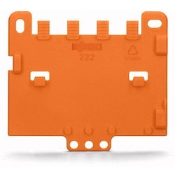 Strain Relief Plate; For Mounting Carrier; 221 Or 222 Series, Can Be Snapped
