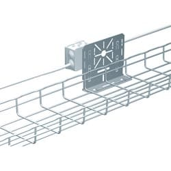UNIVERSAL JUNCTION BOX SUPPORTGALVANISED STEEL
