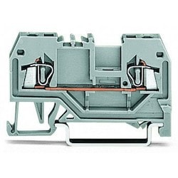 2-conductor Through Terminal Block; 1.5 mm2; Center Marking; For Din-rail 35 X 15 And 35 X 7.5; CAGE CLAMP