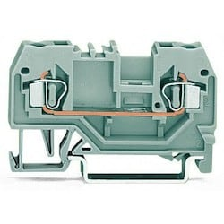 2-conductor Through Terminal Block; 2.5 mm2; Center Marking; For Din-rail 35 X 15 And 35 X 7.5; CAGE CLAMP