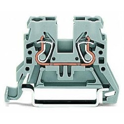 2-conductor Through Terminal Block; 2.5 mm2; Side And Center Marking; For Din-rail 35 X 15 And 35 X 7.5; CAGE CLAMP