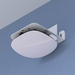 Right-angle Wifi Access Point Wall & Joist Bracket For Most AP Models, White