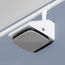 Locking Right-angle Wifi Access Point Wall Mount For Most AP Models, White