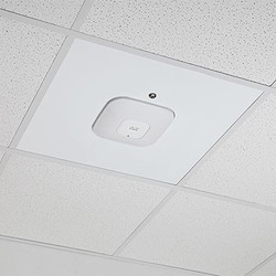 Locking Suspended Ceiling Tile Access Point Mount For Cisco APs