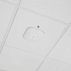 Locking Suspended Ceiling Tile Access Point Mount For Cisco APs, Tegular Style Flange